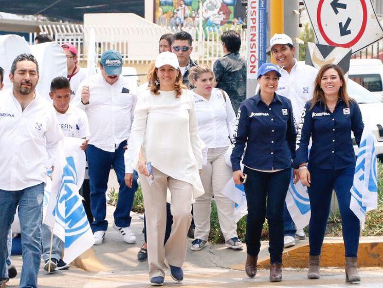 Margarita Zavala considera las alianzas como buenas (Twitter @Mzavalagc)