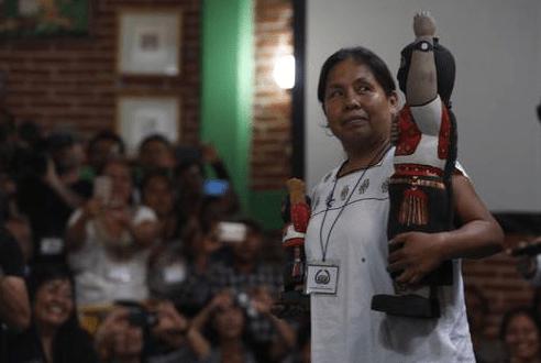 María de Jesús Patricio Martínez, candidata presidencial indígena para 2018