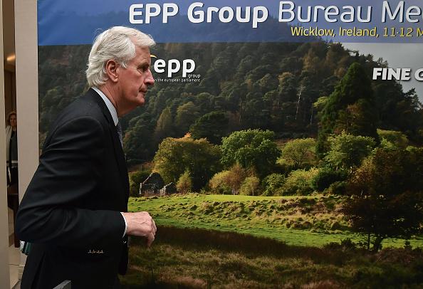 Michel Barnier, negociador en jefe para el Brexit, por la Unión Europea