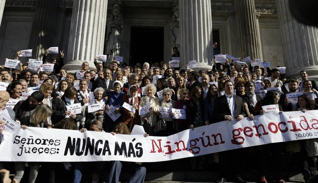 Argentina, condena, dictadura, protestas, juez, seguridad,