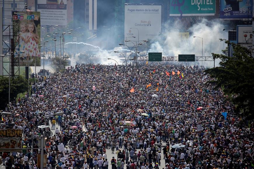 Venezuela, Maduro, militares, protestas, oposición, política,