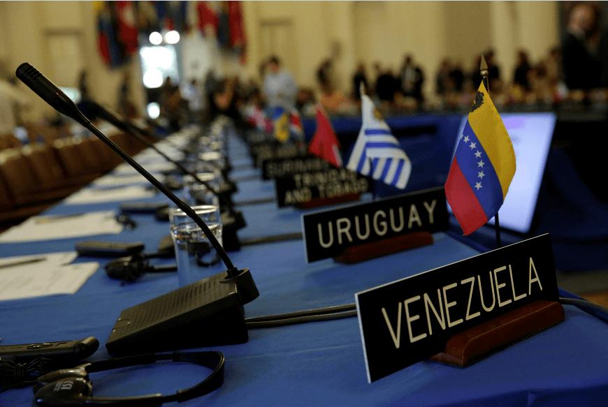 reunión, OEA, Venezuela, Uruguay, miembros oea