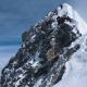 Montañistas descendiendo por el mítico escalón Hillary