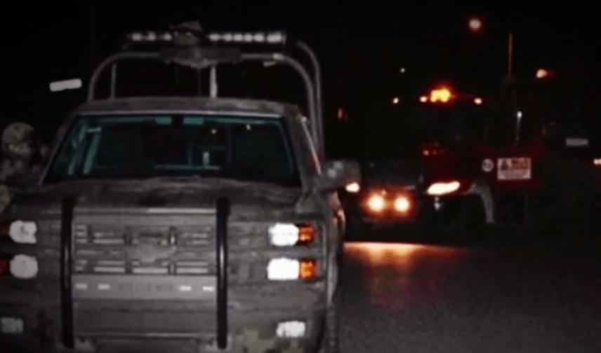 Movilización de policías en Reynosa por bloqueos y enfrentamientos