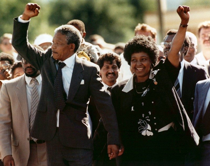 Nelson Mandela hombre odio abrazos 7
