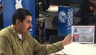 Presidente de Venezuela, Nicolás Maduro, Caracas, Venezuela