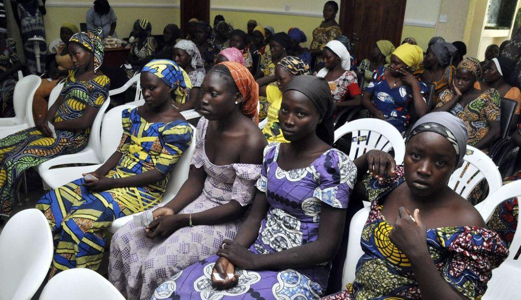 Las 82 chicas liberadas por el grupo terrorista Boko Haram. (AP)