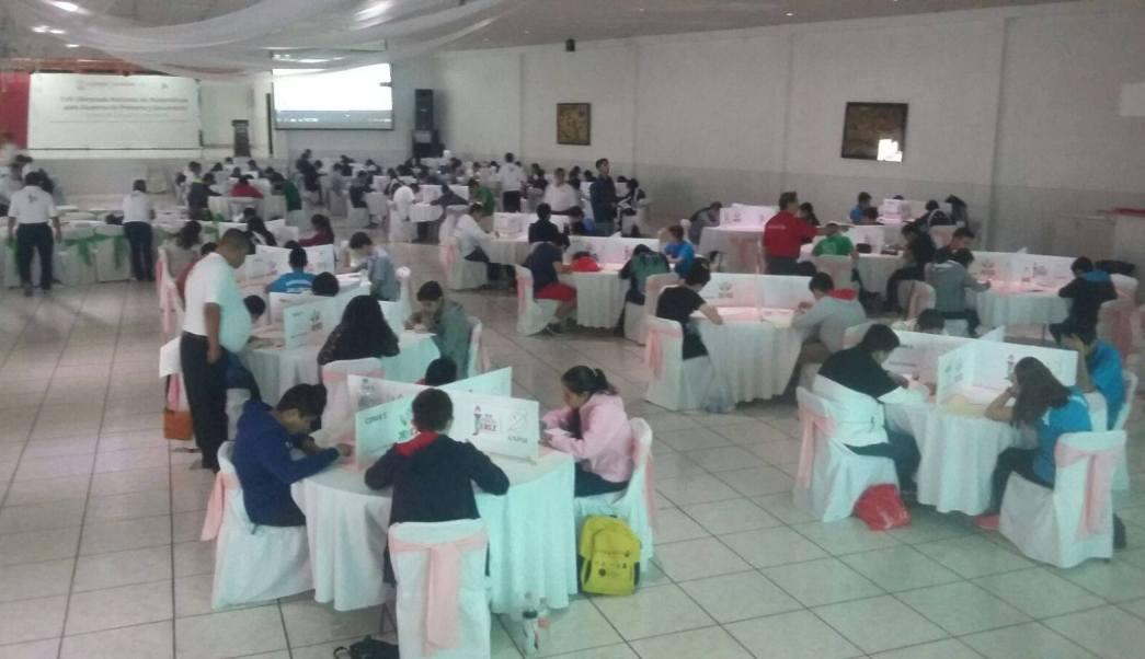 La XVII Olimpiada Nacional de Matemáticas se realizó en Jerez, Zacatecas (Facebook-ONMAPS Guanajuato)