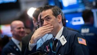 Operador financiero en la Bolsa de Nueva York