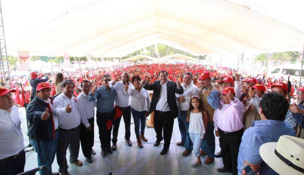 Óscar González propone apoyo a madres de familia en el Edomex