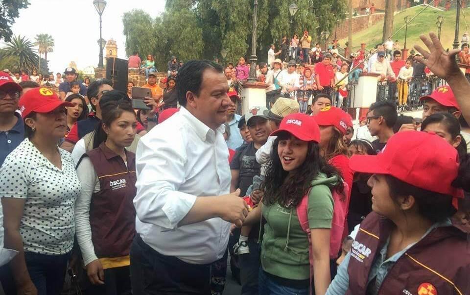 Oscar González, candidato del PT al gobierno del Estado de México
