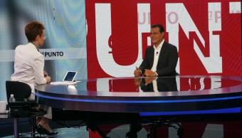 Juan Zepeda, PRD, Denise Maerker, En Punto, política, elecciones