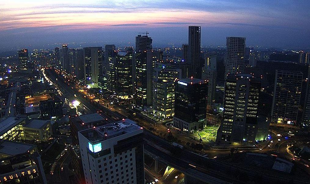 panoramica de la ciudad de mexico
