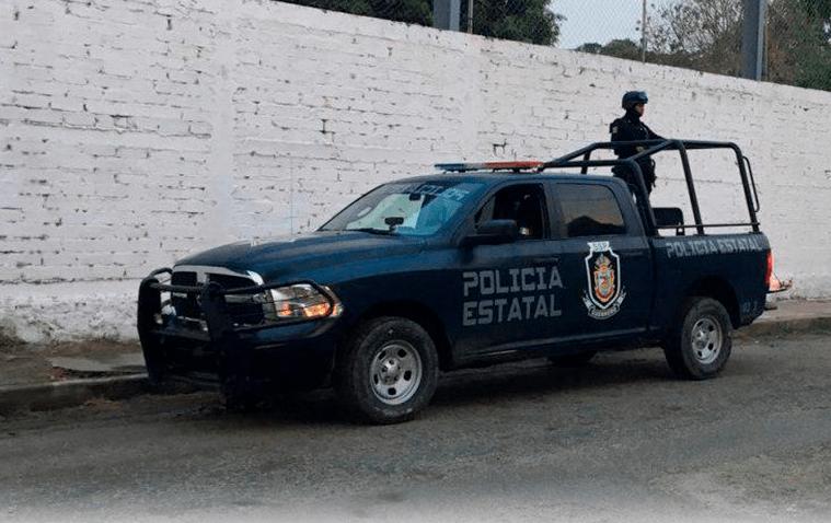 Patrulla de la Policía Estatal de Guerrero