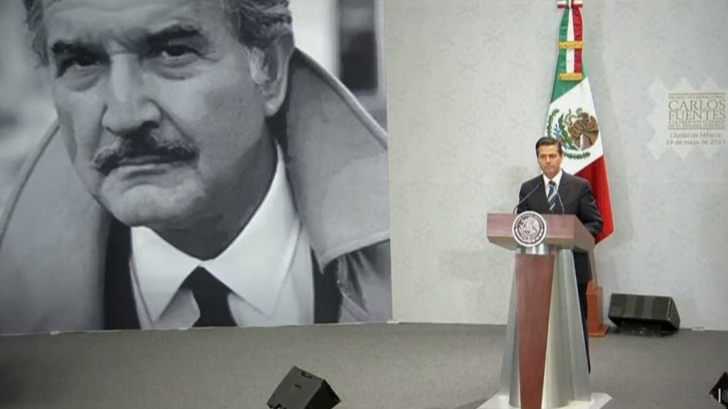 Peña Nieto, Arte, Cultura, Carlos Fuentes, Noticieros Televisa, Forotv