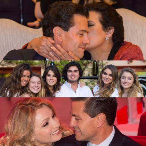 En su cuenta de Twitter, el presidente Enrique Peña Nieto felicita a su mamá y a su esposa Angélica. (@EPN)
