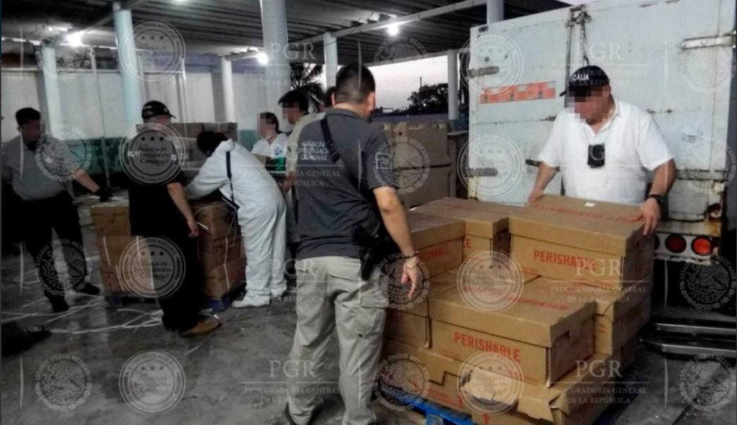 La PGR revisa una empresa congeladora en Yucatan
