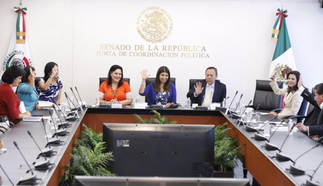 Legisladores instalan la Comisión de Seguimiento a los Procesos Electorales. (Twitter: @Pilarortega)