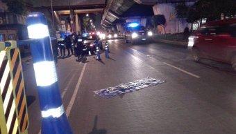 Policías atropellados en alcoholímetro de la CDMX