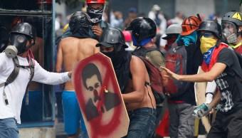 Protestas contra Nicolás Maduro en Venezuela (AP, archivo)