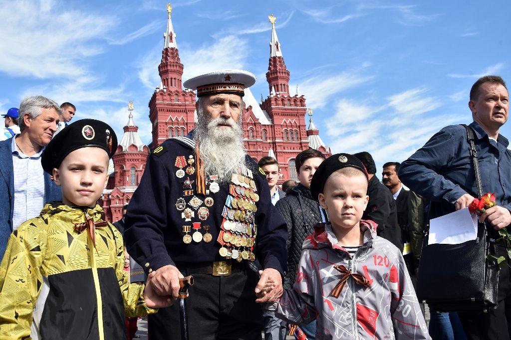 Putin Día de la Victoria Rusia 2