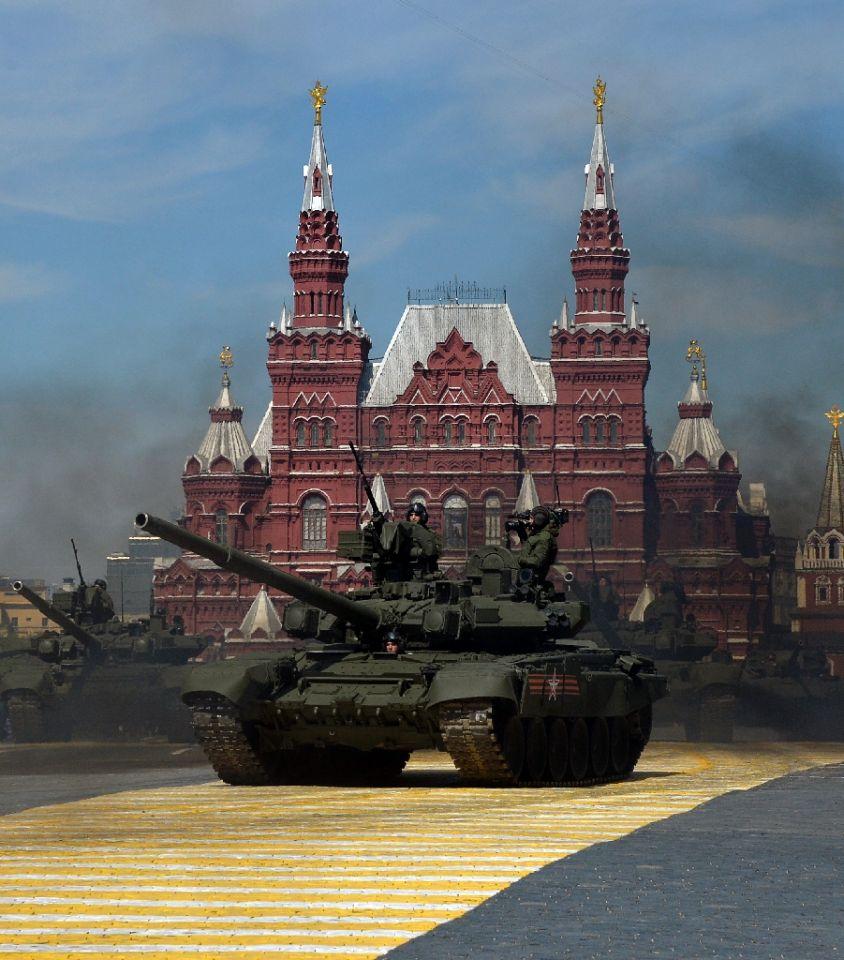 Putin Día de la Victoria Rusia 5