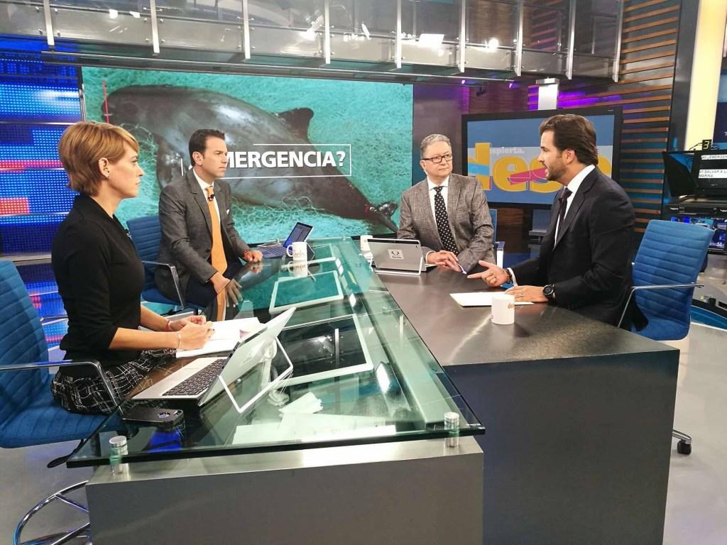 Rafael Pacchiano, secretario de Medio Ambiente, vaquita marina, Despierta con Loret., Conservación, Medio Ambiente, Semarnat