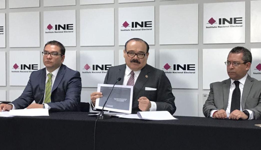 Ramírez Marín habló en conferencia en las instalaciones del INE