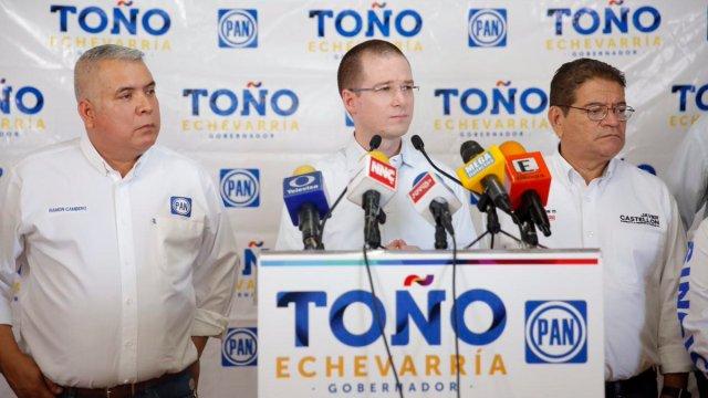 Ricardo Anaya, líder nacional del PAN