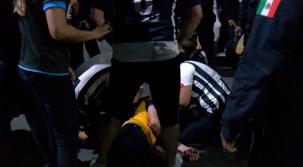 Detienen a 28 aficionados durante el clásico Monterrey - Tigres