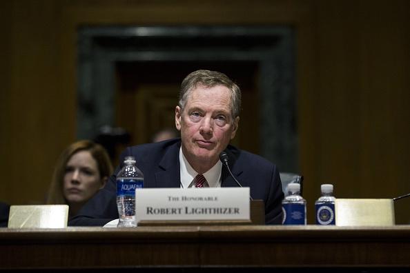 Robert Lighthizer, representante comercial de Estados Unidos, en su audiencia de ratificación