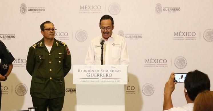 Roberto Álvarez Heredia, vocero de Seguridad de Guerrero. (Twitter: @digitalgro/Archivo)