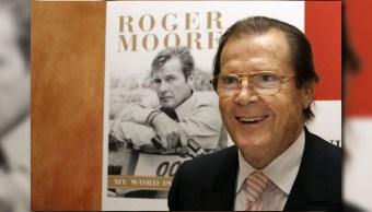 Roger Moore fue uno de los actores que encarnó al famoso personaje James Bond
