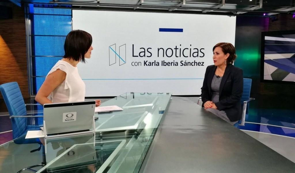 Rosario Robles, titular de Sedatu, aseguró que las ciudades aportan la mayor parte del PIB. (Noticieros Televisa)