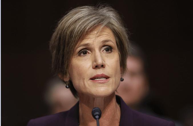 Sally Yates, exfiscal de Estados Unidos