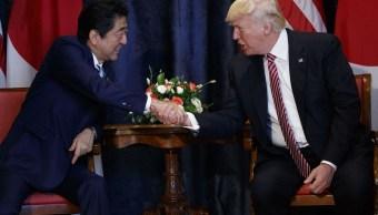 Shinzo Abe, Donald Trump, Japón, Estados Unidos, G7, Corea del Norte