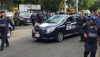 Policias, Ssp, Bomba, Molotov, Heridos, Peligro, Noticias