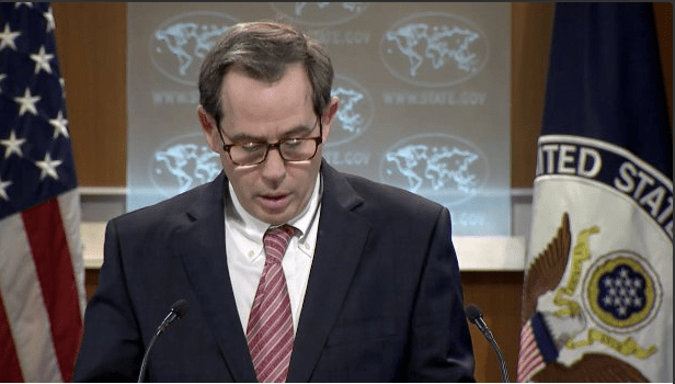Stuart Jones, diplomático de Estados Unidos para Medio Oriente.