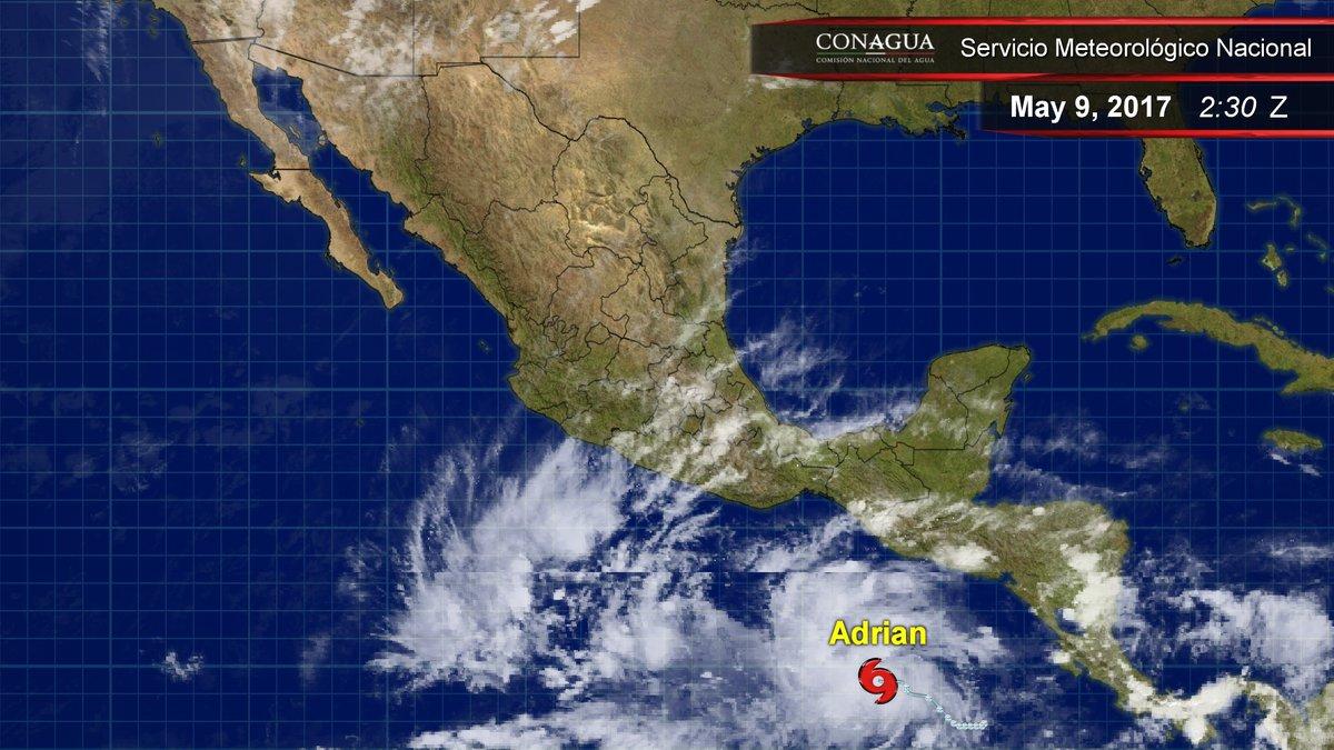 Clima, tormenta tropical, adrián, pacífico, Oaxaca, chiapas