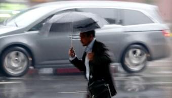 Tormentas fuertes Llluvia, paraguas, méxico, clima