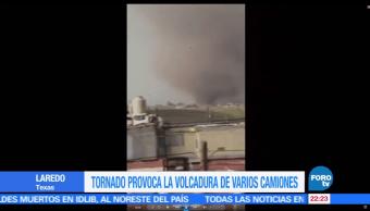 Tornado, provoca afectaciones, Tamaulipas, Ladero, Texas, Puente Internacional