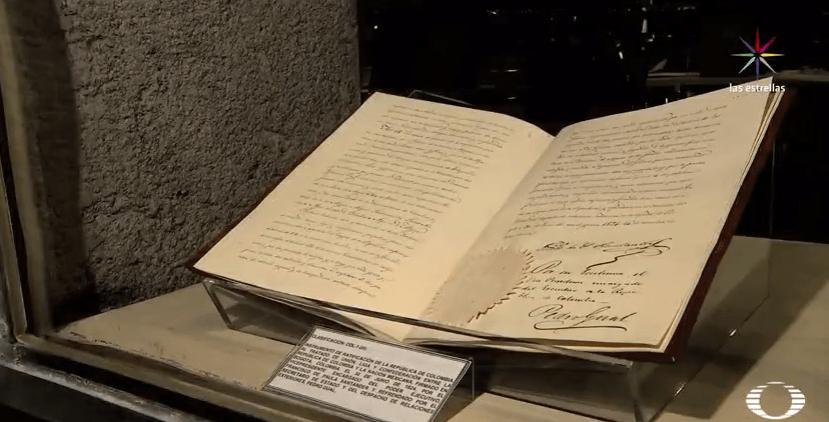 Tratado firmado entre México y Colombia en 1823