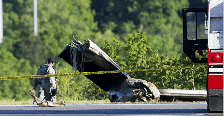 Accidente de avion en Virginia Estados Unidos