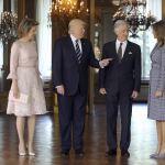 Donald Trump, reina de Bélgica, rey de belgica, Melania Trump, Bruselas