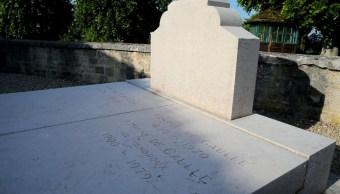 Investigan la profanación de la tumba del ex jefe de Estado francés, Charles de Gaulle (Foto: lemonde)