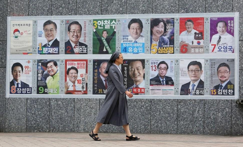 Surcorea, elecciones, presidente, política, comicios, votantes, corrupción,