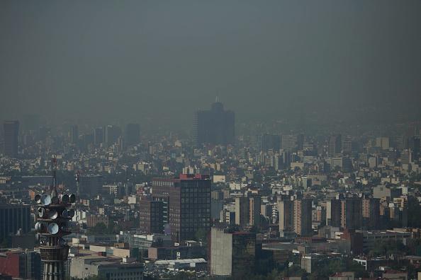 Valle de mexico amanece con mala calidad del aire este viernes