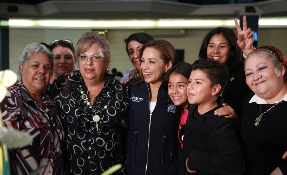 Vázquez Mota visitó Coacalco y Ecatepec