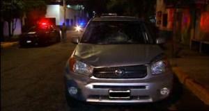 Vehiculo que atropello a dos policias de la CDMX