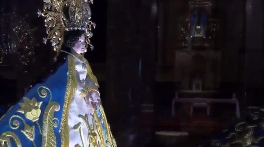 Virgen del Roble en Monterrey